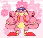 animated blue_eyes cilvia_mirell gear kirby kirby_(series) nintendo not_furry pattern_background red_eyes robobot_armor rosy_cheeks simple_background solo video_games waddling_headRating: SafeScore: 3User: Furrin_GokDate: May 21, 2017