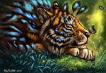 arthropod butterfly cheek_tuft eyes_closed feline feral flashw grass inner_ear_fluff insect mammal solo tiger tuft whiskersRating: SafeScore: 1User: spankweaselDate: February 17, 2018