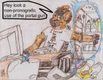 2010 anthro cb129 colored_pencil_(artwork) computer food fridge humor hyena lazy logic male mammal milk portal portal_(series) solo traditional_media_(artwork) valve video_gamesRating: SafeScore: 0User: Cb129Date: June 29, 2010