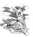 armor equine feral friendship_is_magic horn laugh mammal my_little_pony nightmare_moon_(mlp) omny87 pencil_(artwork) sitting sketch smile solo traditional_media_(artwork) unicorn winged_unicorn wingsRating: SafeScore: 10User: omny87Date: April 26, 2017