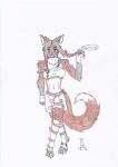 anthro canine crayon_(artwork) female fox hi_res jag_(artist) mammal mixed_media pen_(artwork) rainbow solo squeak squeeker traditional_media_(artwork)Rating: SafeScore: 0User: jAgDate: August 30, 2009