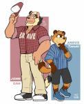 2017 angus_tanuki anthro clothed clothing cute feline fully_clothed john_lion lion male mammal romantic_couple tanuki tekimiRating: SafeScore: 2User: AFuckingWeebDate: October 22, 2017