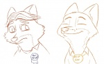2017 anthro award canine clothed clothing disney duo english_text fox gideon_grey male mammal nick_wilde restricted_palette ribbons simple_background smile text tggeko white_background zootopiaRating: SafeScore: 2User: JAKXXX3Date: June 23, 2017