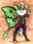 2012 antennae arthropod black_eyes boots caribou_(artist) clothed clothing eyewear female footwear goggles green_hair gun hair handgun insect insect_wings moth pirate pistol ranged_weapon solo steampunk weapon wingsRating: SafeScore: 4User: ClawstripeDate: September 21, 2017