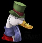 alpha_channel ambiguous_gender avian bird cheetahtrout christmas duck english_text eyewear feral feralized frown glasses grumpy hat headshot_portrait holidays long_neck portrait scarf scrooge_mcduck simple_background solo text top_hat transparent_backgroundRating: SafeScore: 2User: CirceusDate: December 17, 2016