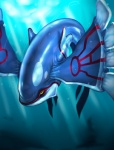 ambiguous_gender feral kyogre legendary_pokémon nintendo pokémon solo underwater uziga_waita video_games waterRating: SafeScore: 3User: VulpesFoxnikDate: August 08, 2009