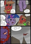 beard big_macintosh_(mlp) castle comic earth_pony equine facial_hair feral friendship_is_magic glowing group hair horn horse magic mammal metal_(artist) my_little_pony pony scratches twilight_sparkle_(mlp) unicornRating: SafeScore: 0User: IndigoHeatDate: March 25, 2017