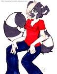 anthro chest_tuft female fur heterochromia lemur mammal primate sitting solo tuft zeriara zeriara_(character)Rating: SafeScore: 0User: The Dog In Your GuitarDate: May 12, 2007