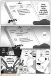 anthro canine clothed clothing comic fur greyscale lagomorph mammal monochrome naruever nero_(naruever) rabbit