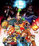 abs angry ape armor avian bird black_eyes blue_eyes blue_hair bowser boxing_gloves brown_eyes brown_hair captain_falcon charizard claws clothing coat crossover dark_skin donkey_kong_(character) donkey_kong_(series) dragon f-zero facial_hair fingerless_gloves fire fire_breathing fire_emblem ganondorf gerudo gloves group hair hammer hat helmet hi_res horn human humanoid ike_(fire_emblem) jacket king_dedede kirby_(series) kong little_mac looking_back male mammal mario_bros melee_weapon membranous_wings mustache necktie nintendo open_mouth orange_skin penguin pokémon pokémon_(species) primate punch-out!! purple_eyes red_eyes red_hair reptile scalie scarf sharp_teeth short_hair shoulder_pads smile super_smash_bros sword teeth the_legend_of_zelda tongue tools turtle unknown_artist video_games wario weapon wings