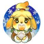 animal_crossing anthro blush canine cute dog female isabelle_(animal_crossing) mabo mammal nintendo scarf shih_tzu solo video_gamesRating: SafeScore: 10User: Juni221Date: February 28, 2014