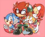 2017 anthro aoii91 big_eyes big_head black_nose canine clothing custom_character_(sonic_forces) dipstick_tail echidna eyewear fox fur glasses gloves hedgehog knuckles_the_echidna male mammal miles_prower monotreme multi_tail multicolored_tail simple_background sonic_(series) sonic_forces sonic_the_hedgehog toony video_games wolfRating: SafeScore: 2User: Rysaerio-MisoeryDate: September 10, 2017