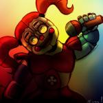 animatronic baby_(fnafsl) digital_media_(artwork) five_nights_at_freddy's humanoid illogicalvoid machine mammal robot sister_location solo video_games