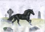 2007 ambiguous_gender black_fur colored_pencil_(artwork) detailed_background eosfoxx equine feral fur grass grave graveyard horse mammal mane outside quadruped side_view solo traditional_media_(artwork)Rating: SafeScore: 5User: Cash_BanoocaDate: July 05, 2016