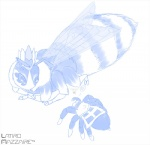2014 6_legs 8_eyes 8_legs <3 antennae arachnid arthropod bee crown duo feral feralized insect insect_wings kirby_(series) latiro monochrome neck_tuft nintendo queen_sectonia simple_background spider stinger taranza tuft video_games white_background wingsRating: SafeScore: 1User: Furrin_GokDate: May 07, 2017