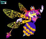 <3 alpha_channel anthro arthropod bee blue_exoskeleton crown feather_boa female floating_hands insect insect_wings kassiopeia_kitten kirby_(series) nintendo purple_eyes queen_sectonia simple_background solo staff stinger video_games wings yellow_exoskeletonRating: SafeScore: 1User: Furrin_GokDate: May 21, 2017
