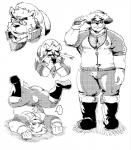 2018 anthro bear boots clothed clothing eyewear footwear glasses hat male mammal slightly_chubby solo straw_hat tokyo_afterschool_summoners volosRating: SafeScore: 3User: mapachitoDate: April 23, 2018