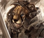 ambiguous_gender angry anthro armor blue_eyes cheetah cheetahpaws feline knight mammal melee_weapon solo sword teeth weaponRating: SafeScore: 73User: The Dog In Your GuitarDate: June 21, 2007