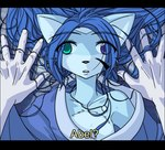 anthro canine cute duo female fox heterochromia love low_res mammal oni_(character) romantic stephanie_kao subtitled zetallisRating: SafeScore: 4User: The Dog In Your GuitarDate: May 09, 2007