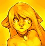 anthro collar facial_markings felicia_cat felicia_cat_(character) feline female fur hair hi_res lion looking_at_viewer mammal markings nude soloRating: SafeScore: 8User: Cat-in-FlightDate: February 17, 2017