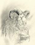 alectorfencer anthro bighorn_sheep caprine male mammal portrait sheep solo whatRating: SafeScore: 2User: TauxieraDate: November 10, 2009