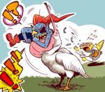 ! ?! alphys angry anthro avian bird female feral fish grass group imminent_vore lizard marine mediocrity panic pelican reptile scalie undertale undyne video_games voreRating: SafeScore: 12User: neepokraDate: January 18, 2017