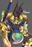 abs anthro anubian_jackal armor canine clothed clothing fur jackal league_of_legends looking_at_viewer male mammal mbvgfw1108 muscular muscular_male nasus_(lol) nipples riot_games simple_background sitting solo video_gamesRating: SafeScore: 5User: webreaknDate: May 25, 2018