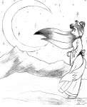 anthro canine female fox greyscale mammal monochrome moon night old outside sad simple_background sketch sky solo star starry_sky tommy_chan white_backgroundRating: SafeScore: 2User: BakumaruDate: June 29, 2010