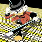 2018 4_fingers anthro avian beak bird cane clothed clothing determined digital_drawing_(artwork) digital_media_(artwork) disney duck ducktales ducktales_(2017) eyewear feathers glasses hat looking_at_viewer outline scrooge_mcduck signature simple_background smile solo tettyamansp top_hat white_feathers yellow_beakRating: SafeScore: 1User: BooruHitomiDate: April 13, 2018