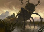 arthropod backlit beetle building duo feral humanoid insect magic_the_gathering official_art on_hind_legs pincers scarab sidharth_chaturvedi silhouette solo_focus swamp walkingRating: SafeScore: 0User: CirceusDate: January 24, 2017