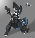 ambiguous_gender android azure_hazel by-sa creative_commons cute grey_background gun holding_object holding_weapon lagomorph license_info machine mammal open_mouth rabbit ranged_weapon robot simple_background solo tysontan weaponRating: SafeScore: 1User: LadyFuzztailDate: April 22, 2007