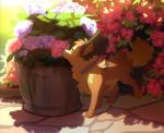 akitamonster black_nose canine day detailed_background dog feral flower mammal outside paws plant solo standingRating: SafeScore: 0User: MillcoreDate: April 25, 2017