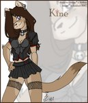 anthro bell_collar breasts cleavage clothed clothing collar cougar feline female fishnet hyd kine mammal soloRating: SafeScore: 1User: LadyFuzztailDate: April 23, 2007
