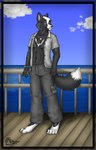 anthro canine clothed clothing eyewear fox glasses male mammal max open_shirt pandaesque shirt soloRating: SafeScore: 2User: LadyFuzztailDate: April 25, 2007