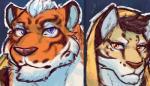 2018 anthro clothing feline hi_res hoodie leopard likulau lin_hu male mammal nekojishi tigerRating: SafeScore: 3User: DelurCDate: January 08, 2018