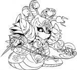 black_sclera breasts female looking_at_viewer machine naga nezumi reptile robot scalie simple_background snake solo third_eye weaponRating: SafeScore: 3User: Ko-sanDate: November 06, 2017