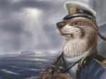 4:3 anthro binoculars clothed clothing cloud cute hat male mammal mustelid otter outside overcast sailor sea ship sky solo source_request squint uniform unknown_artist vehicle water wave whiskersRating: SafeScore: 4User: MunkelzahnDate: June 29, 2010