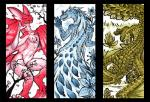 2018 anthro anthrofied bazelgeuse breasts capcom claws convenient_censorship dragon fanged_wyvern female flower group horn iggi legiana looking_at_viewer membranous_wings monochrome monster_hunter monster_hunter_world navel nude plant scalie simple_background smile teeth tobi-kadachi toe_claws video_games wings wyvernRating: SafeScore: 16User: Baconator8Date: April 03, 2018