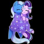 2016 adgerellipone alpha_channel blue_hair blush cape clothing cuddling cute duo equine eyebrows eyelashes eyes_closed female female/female friendship_is_magic hair horn love lying mammal multicolored_hair my_little_pony simple_background sleeping smile star starlight_glimmer_(mlp) transparent_background trixie_(mlp) two_tone_hair unicornRating: SafeScore: 5User: GlimGlamDate: December 12, 2017