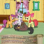 animated apple apple_bloom_(mlp) apple_tree bitterplaguerat earth_pony equine feathers food friendship_is_magic fruit horse loki_(bitterplaguerat) mammal my_little_pony pegasus pony rope scootaloo_(mlp) sweetie_belle_(mlp) text tree wingsRating: SafeScore: -4User: Aryanne_HooflerDate: April 25, 2017