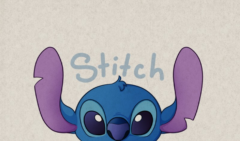 e926 2016 alien big_eyes blue_eyes blue_fur blue_nose character_name digital_drawing_(artwork) digital_media_(artwork) disney experiment_(species) front_view fur head_tuft headshot_portrait lilo_and_stitch looking_at_viewer notched_ear portrait simple_background solo solosandwich stitch textured_background tuft