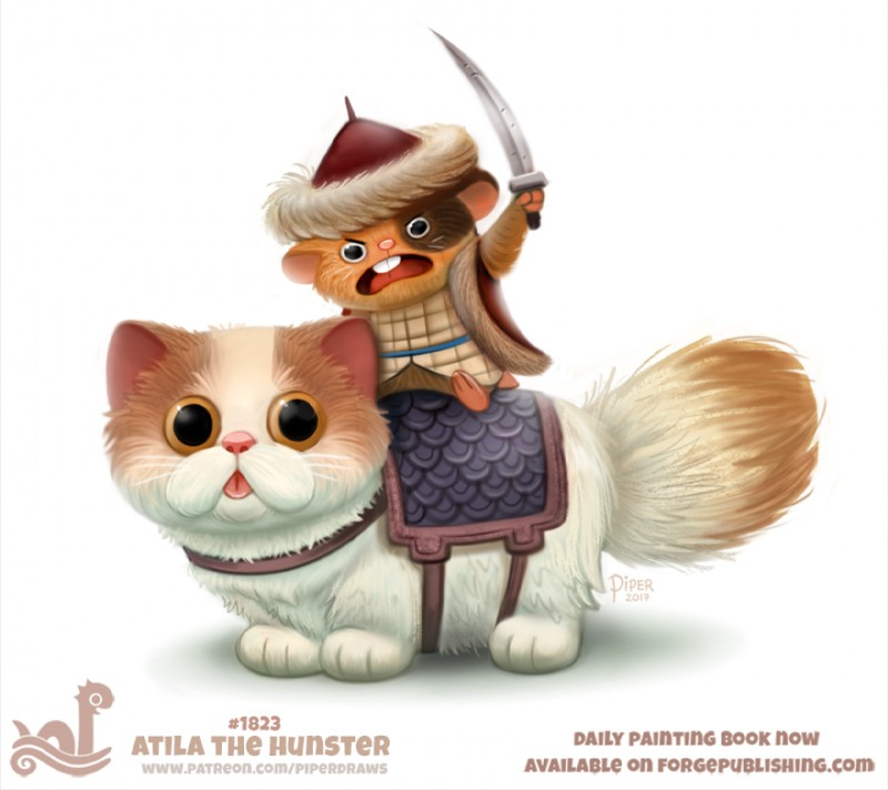 e926 2017 ambiguous_gender angry anthro attila_the_hun black_eyes brown_fur buckteeth cat clothed clothing cryptid-creations duo feline fur hamster hat humor mammal melee_weapon open_mouth pun rodent simple_background solo sword tan_fur teeth tongue tongue_out weapon white_background white_fur yelling yellow_eyes