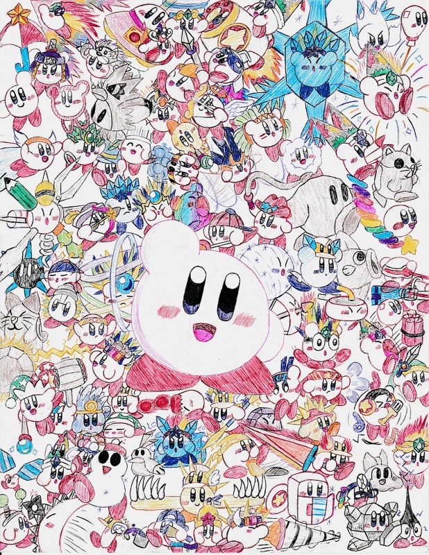 e926 absurd_res angry armor arrow arthropod avian ball balloon bee beetle bell big_eyes bird black_eyes black_nose blue_eyes blue_skin blush bomb bow_(weapon) broom brown_fur bubble bucket cactus cape cat cephalopod chef_hat chuchu_(kirby) claws clay clothed clothing compass coo_(kirby) corkscrew crystal curling_stone dirt drill duck_hunt_dog_(artist) dynamite electricity explosives eyes_closed eyewear feathers feline fire fireworks fish flying fork fridge frown fur gem ghost glasses green_feathers halo hammer hamster happy hat headband headphones helmet hi_res ice ice_cube ice_skates insect katana kine_(kirby) kirby kirby_(series) laser leaf lightbulb machine magic male mammal marine melee_weapon metal microphone mine mirror missile musical_note nago_(kirby) nail nightcap nintendo octopus open_mouth owl paint paintbrush parasol parka pencil_(object) pink_skin pitch_(kirby) polearm purple_fur rainbow ranged_weapon red_feathers rick_(kirby) rock rodent scepter sculpture shuriken sleeping smile snowball snowflake snowman spear spirit star statue sunfish surprise sword syringe test_tube tongue tools tornado ufo video_games volcano water weapon wheel whip white_fur wings yarn yellow_feathers yellow_skin yoyo