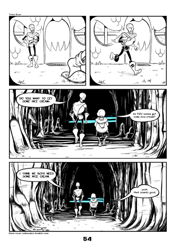 e926 2017 animated_skeleton bone c-puff clothed clothing comic duo english_text hi_res humanoid not_furry papyrus_(undertale) sans_(undertale) skeleton text undead undertale video_games