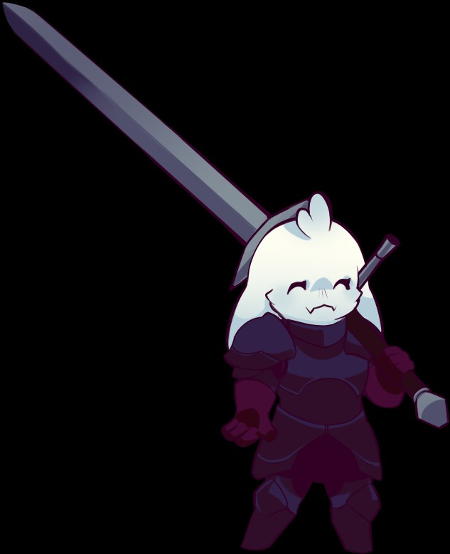 e926 ^_^ alpha_channel armor asriel_dreemurr big_sword boss_monster caprine chibi clothing cute eyes_closed gloves goat male mammal red_gloves simple_background smile smol transparent_background undertale unknown_artist video_games warrior zweihander