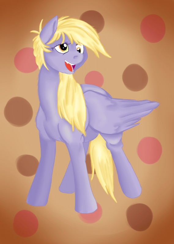 e926 2017 artschmo derpy_hooves_(mlp) equine feral friendship_is_magic hair hi_res jbond mammal my_little_pony painting pegasus solo wings
