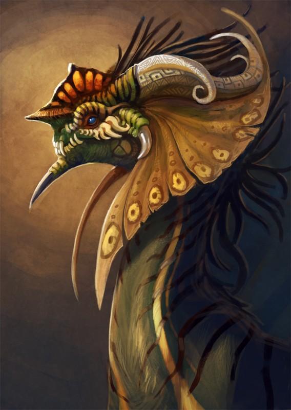 e926 2016 ambiguous_gender blue_eyes curved_horn digital_media_(artwork) dragon headshot_portrait horn neboveria portrait simple_background